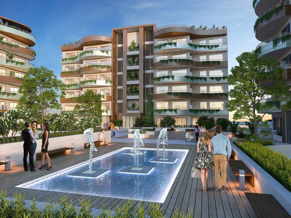 Prosperity Living: Μια μικρή σύγχρονη πόλη γεννιέται στο Μενεού - City Of  Larnaka